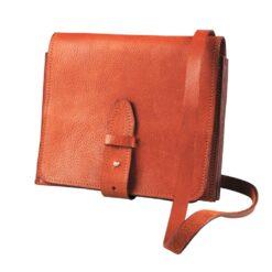 messenger taske i læder